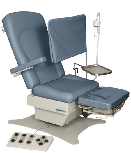 Umf 5016 Power Podiatry Wound Care Chair Exam Tables