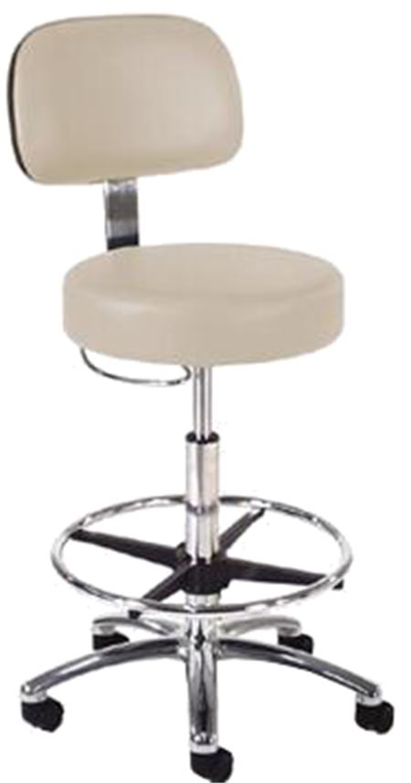 Intensa 873 Lab Stool: D-Handle