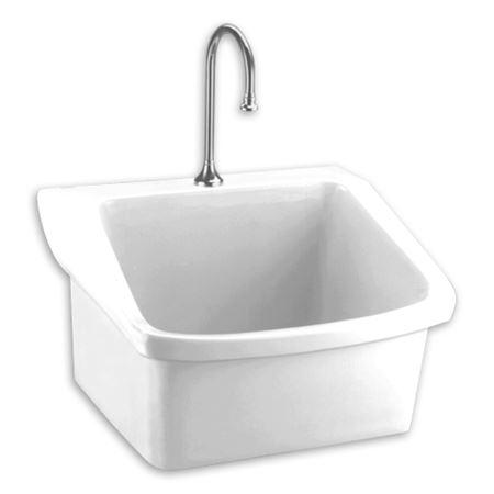 American standard surgeons scrub sink scrub sinks - How deep is a standard bathroom vanity ...