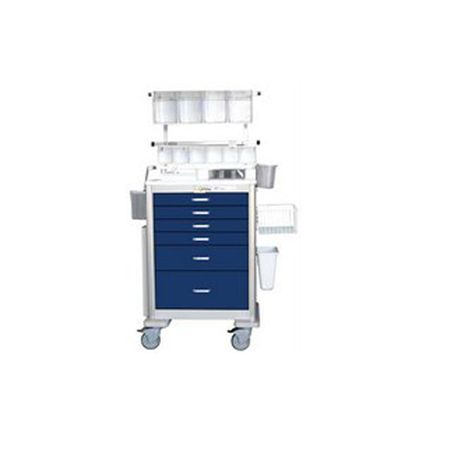 Deluxe Anesthesia Package for Elite Aluminum Unicarts