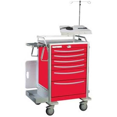 Deluxe Emergency Crash Cart Accessory Package For Elite