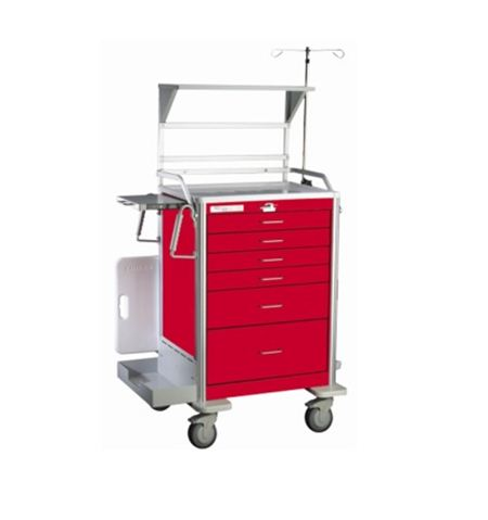 Deluxe Emergency / Crash Cart Accessory Package for Traditional Steel Unicarts