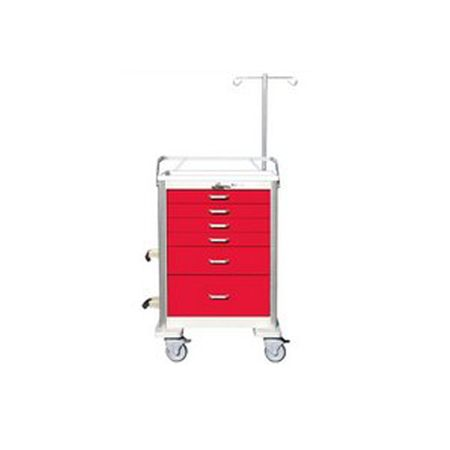 Emergency / Crash Cart Accessory Package for Elite Aluminum Unicarts