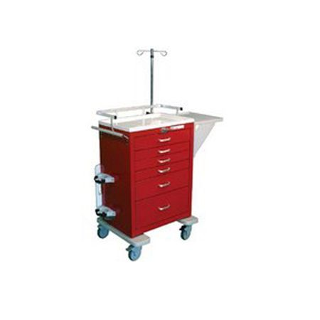 Emergency / Crash Cart Accessory Package for Traditional Steel Unicarts