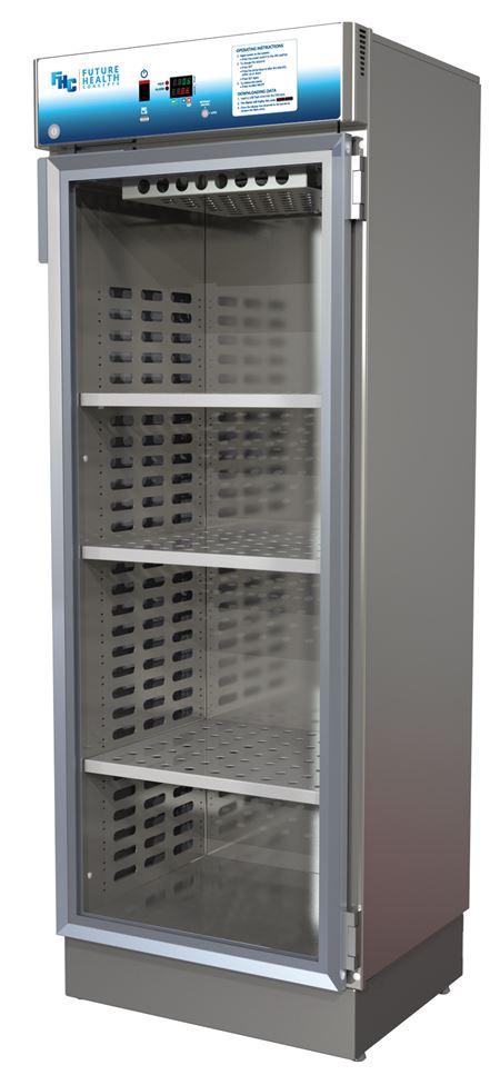 Single Door Warmer ~ Fhc mid size single glass door blanket fluid or solution