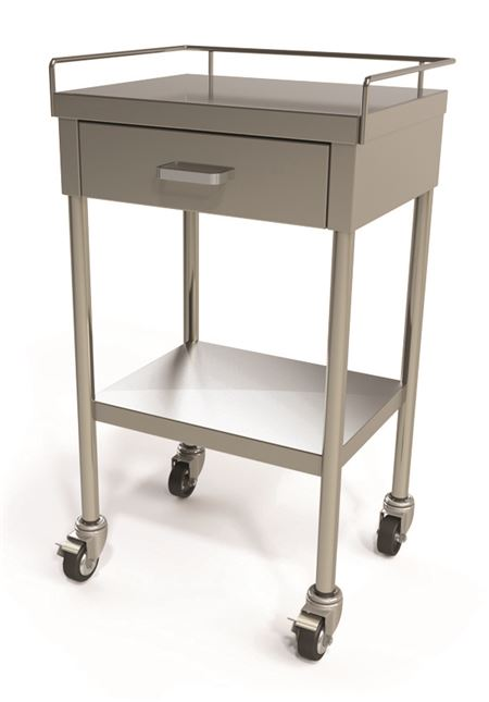 Fhc S S Utility Table With One Drawer Instrument And
