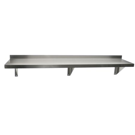 fhc stainless steel shelf with brackets scrub sinks. Black Bedroom Furniture Sets. Home Design Ideas