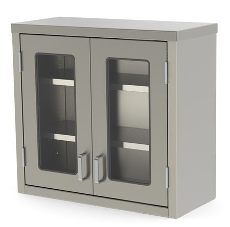 Overhead Storage Cabinets Stainless Steel Cabinetry