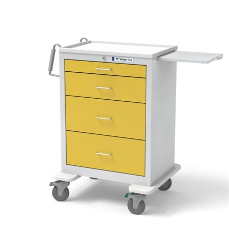 Waterloo 4-Drawer Key Locking Isolation Cart