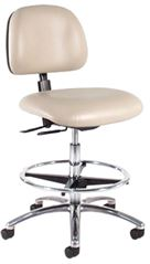 Intensa 833 Ergonomic Lab Chair: Seat & Back Tilt