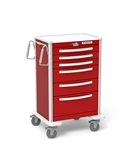 Waterloo 6 Drawer Breakaway Locking Lightweight Crash Cart