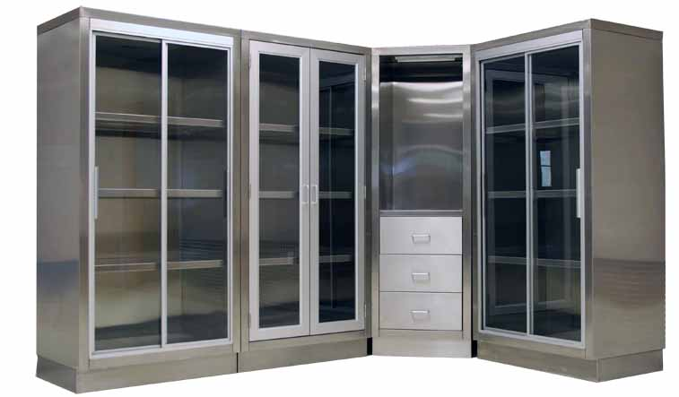 ... stainless steel, our operating room cabinets are built for long-lasting  durability and reliability. Whether it's Supply Storage, Nurse  Documentation, ... - Stainless Steel Cabinetry, New And Refurbished Stainless Steel